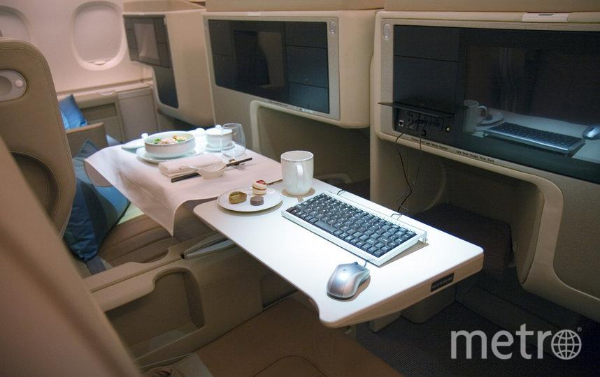 Пассажиры смогут проносить на борт свою еду, напитки и детское питание в герметичной упаковке. При этом бортовое питание также будет доступно. Фото Getty
