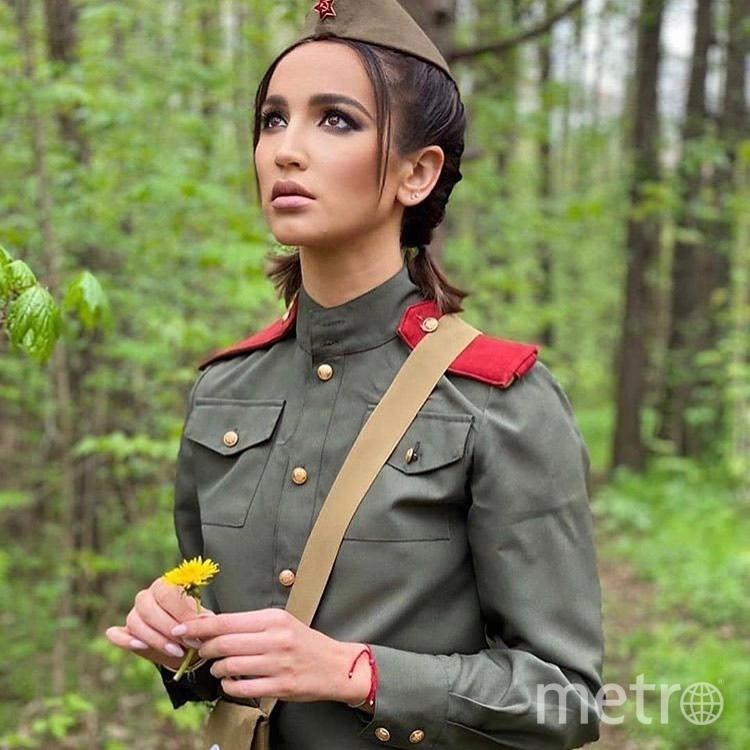 Ольга Бузова на съёмках клипа. Фото instagram.com/buzova86.