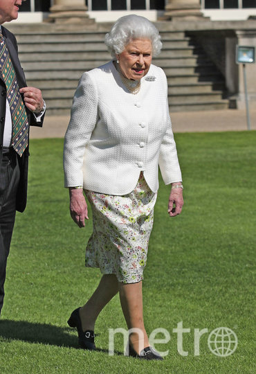 Королева Елизавета II в саду Букингемского дворца. Фото Getty
