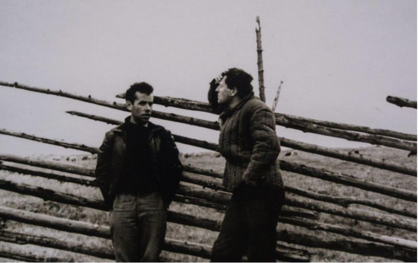 Яков Гордин и Иосиф Бродский. Фото архив