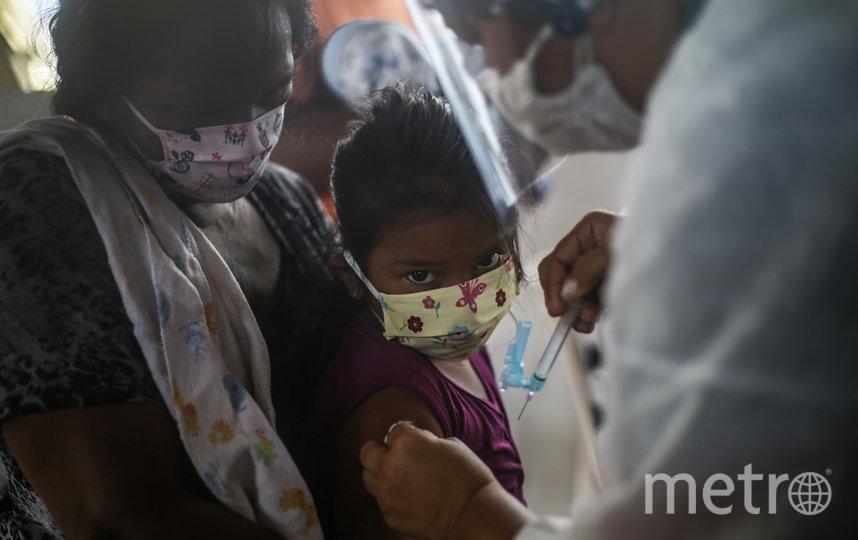 Во многих странах, в том числе и африканских, пандемия сбила план поставок вакцин в деревни и небольшие города. Фото Getty