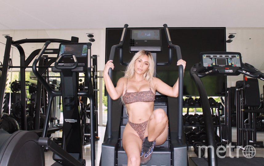 Любимый тренажёр звезды реалити-шоу – кардиотренажёр-лестница. Фото instagram.com/kimkardashian
