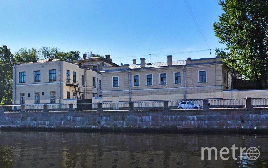Больница им. П.П. Кащенко на набережной Фонтанки. Фото Яндекс.Панорамы