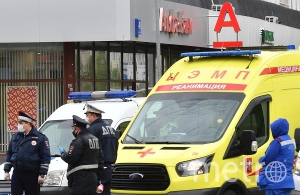 Инцидент произошёл в отделении банка в доме 41 по улице Земляной Вал. Фото РИА Новости