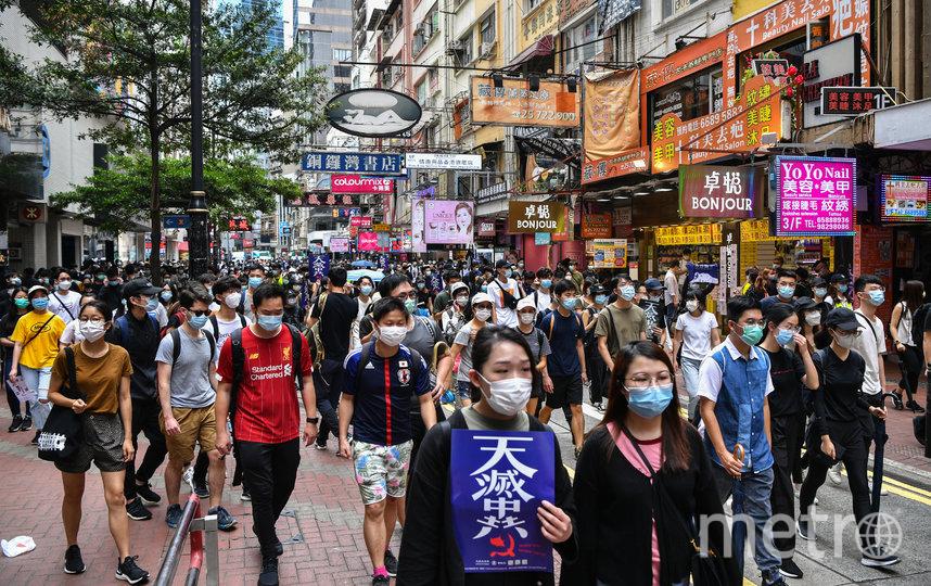 В Гонконге возобновились акции протеста. Фото AFP