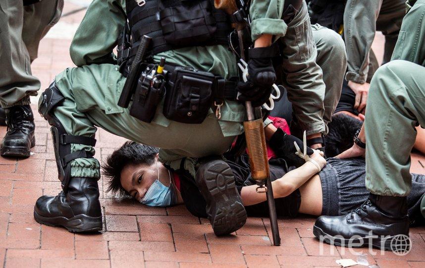 По данным BBC, 120 человек были арестованы. Фото AFP