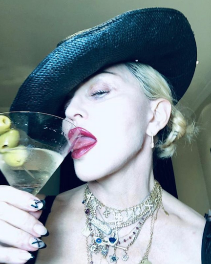 Мадонна. Фото скриншот Instagram @madonna