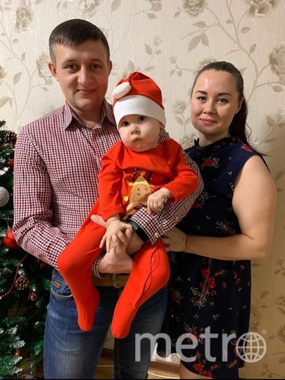 """Семья Гепаловых. Фото предоставлены родителями Кости, """"Metro"""""""