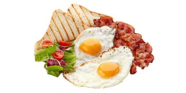 """Оригинальное изображение """"английского завтрака"""", которое можно бесплатно скачать в Интернете."""