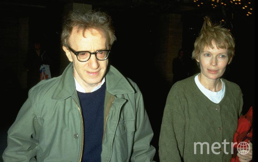Вуди Аллен и Миа Фэрроу. Фото Getty