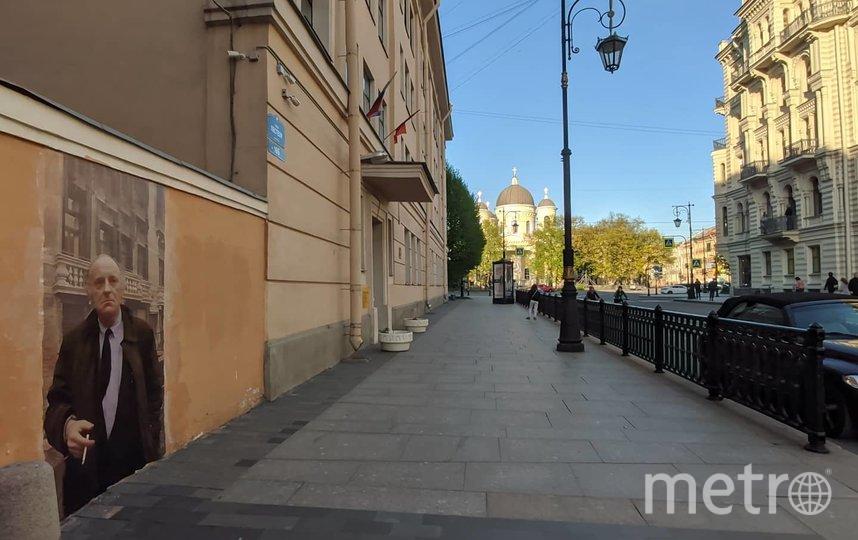 Граффити с Иосифом Бродским. Фото olegmihalych, vk.com