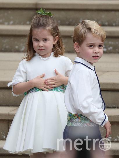 Принц Джордж и принцесса Шарлотта. Фото Getty