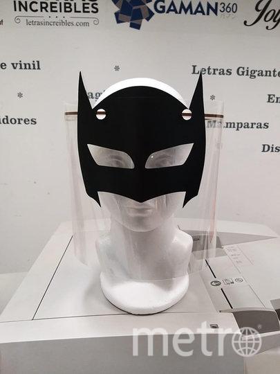 Маски супергероев стали вирусными в Сети. Фото предоставлено героем публикации