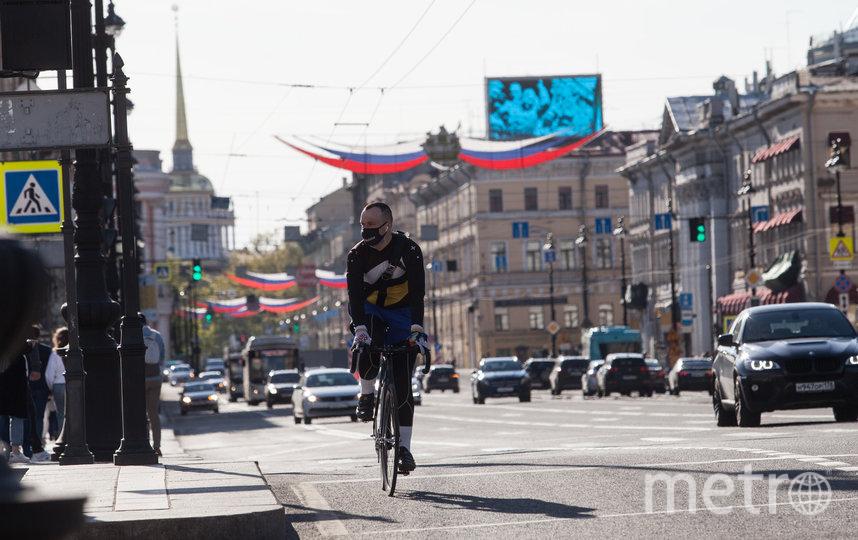 """Санкт-Петербург в дни карантина. Фото Святослав Акимов, """"Metro"""""""