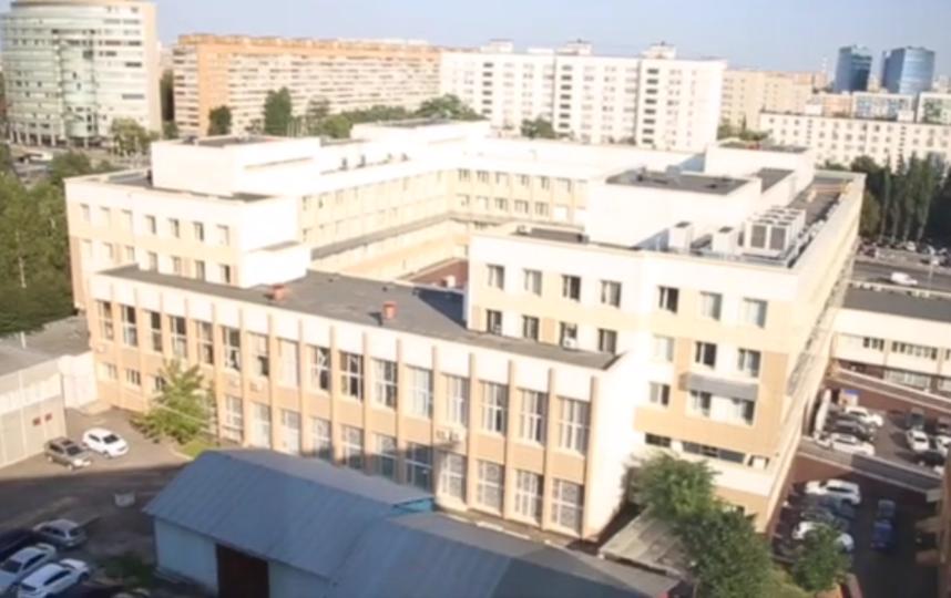 """Перинатальный центр """"Мать и дитя"""" на Севастопольском проспекте. Скриншот видео. Фото vimeo.com"""