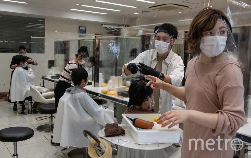 Парикхмахерские были открыты на протяжении всего карантина. Фото Getty