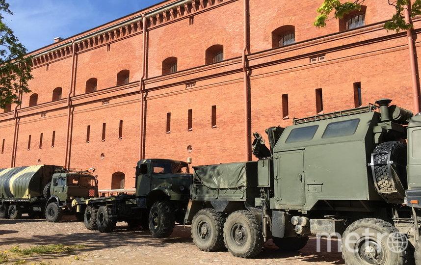 Техника принимала участие в боевых действиях. Фото предоставлено пресс-службой ЗВО
