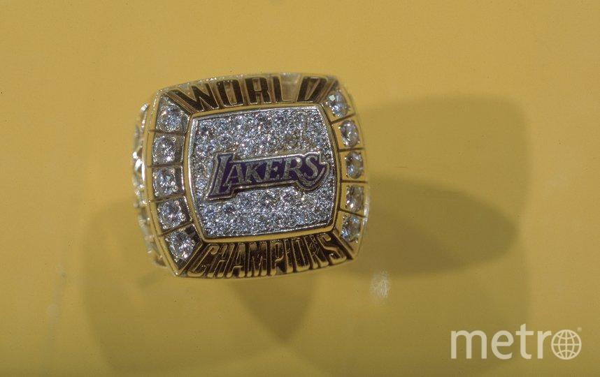 Перстень Коби Брайанта. Фото Getty