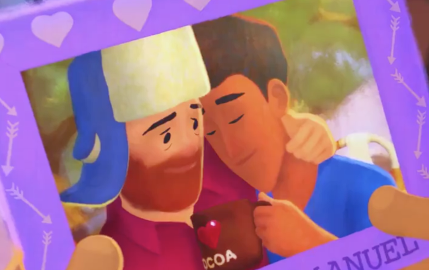 Центральные персонажи мультфильма. Фото Скриншот видео Disney+.