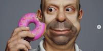 Художник воссоздал симпсонов в 3D
