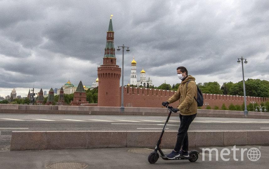 В ряде городов страны, в том числе в Москве, продолжает действовать режим самоизоляции, вызванный коронавирусом. Фото AFP
