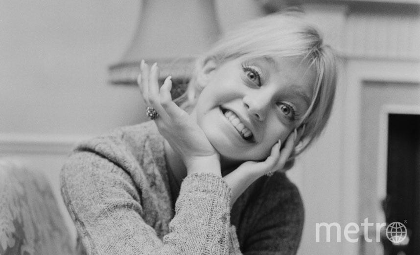 Это актриса Голди Хоун, мама не менее известной актрисы Кейт Хадсон. 1970 год. Фото Getty