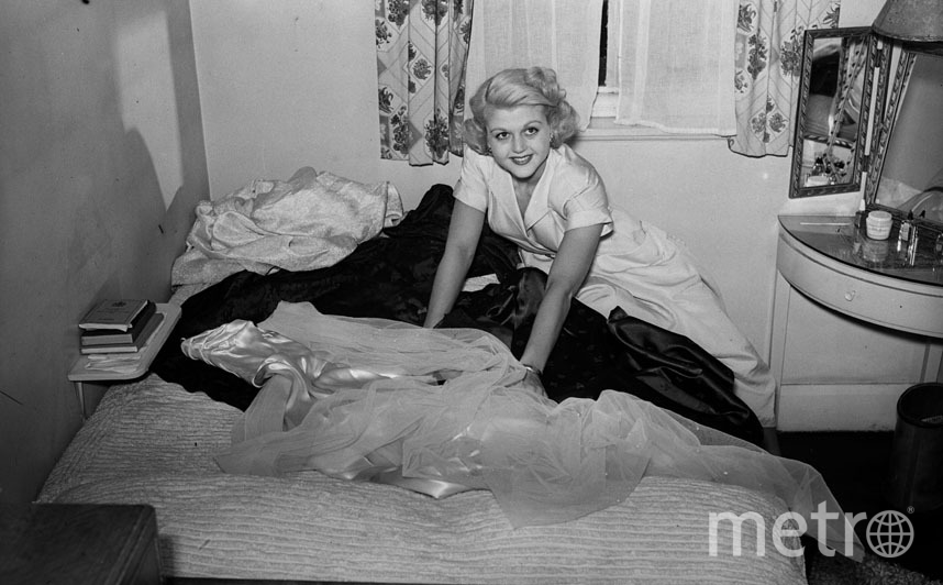 Анджела Лэнсбери в 1949 году. Фото Getty
