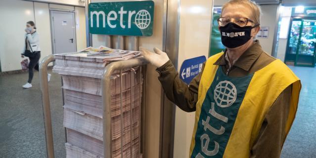 """""""Не молчи"""": Metro провело в Петербурге акцию против домашнего насилия."""