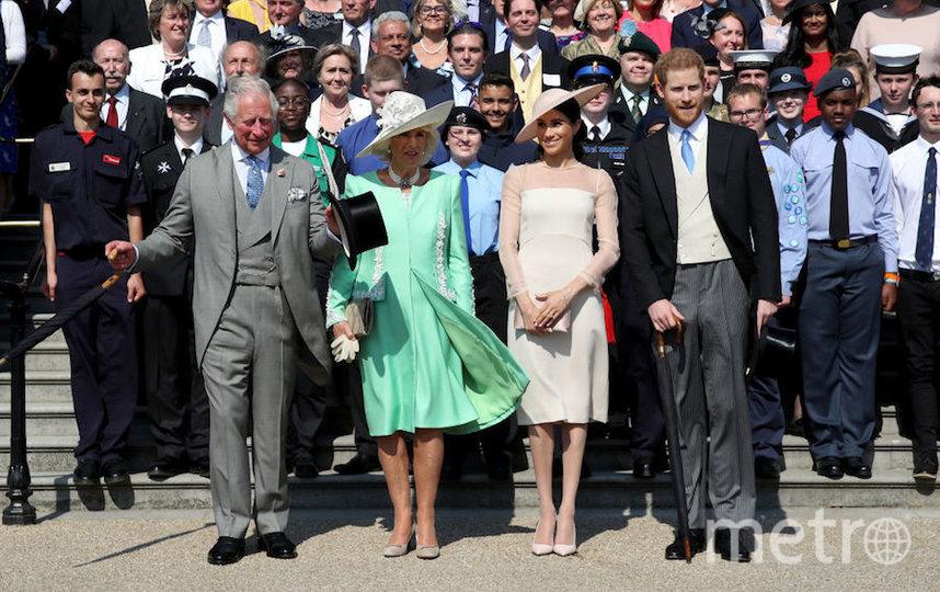 Принц Гарри и Меган Маркл с принцем Чарльзом и Камиллой Паркер Боулз. Фото Getty
