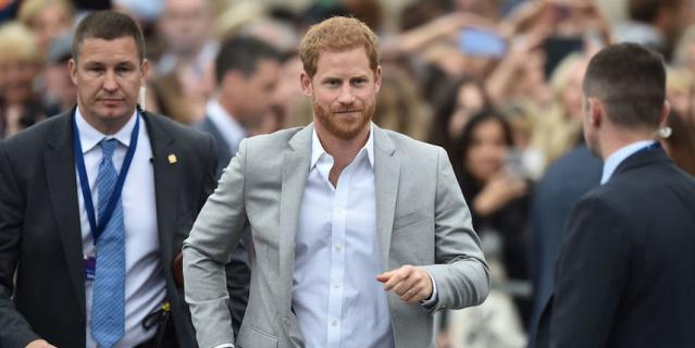 Принц Гарри надеялся, что может сохранить прежнюю охрану.
