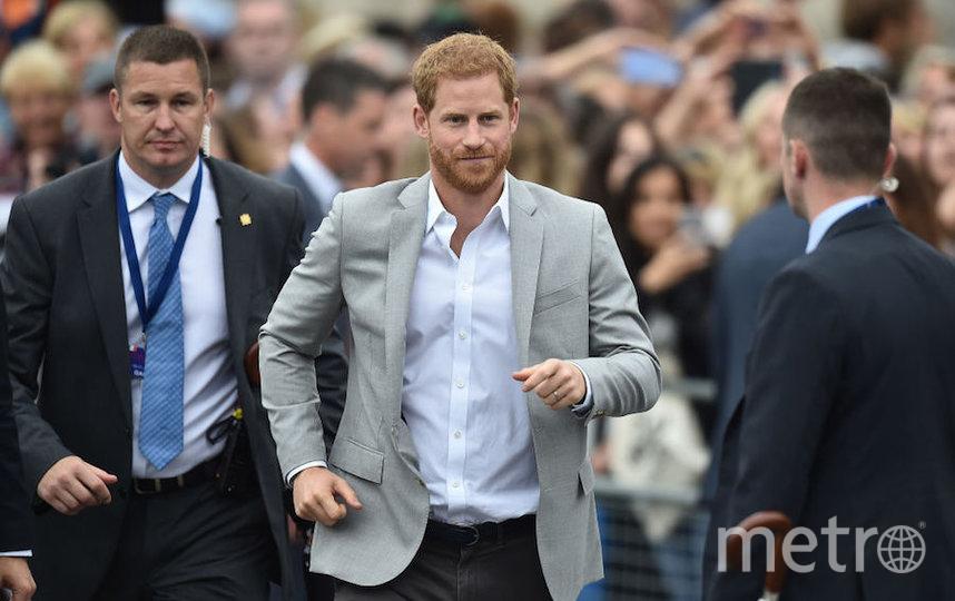 Принц Гарри надеялся, что может сохранить прежнюю охрану. Фото Getty