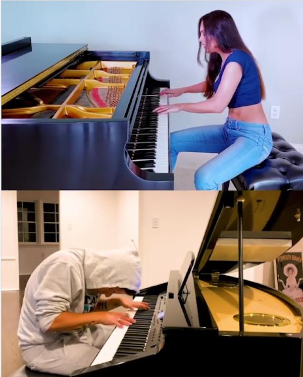 Каждый музыкант записал видео у себя дома, находясь на самоизоляции. Фото скриншот: instagram.com/lolaastanova/