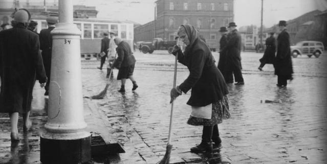 Архивные фото Петербурга, Ленинграда, Петрограда. Октябрь 1955 года.