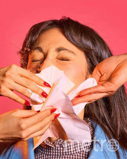 «Закрывайте рот, когда кашляете или чихаете». Фото INSTAGRAM @matherystudio