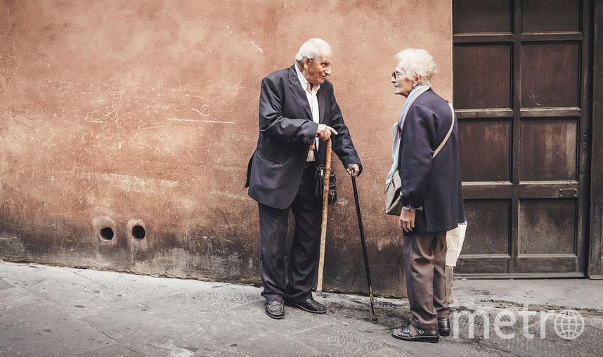 Не менее важен тот факт, что для пожилых людей прогулки – это не только физическая активность, но и общение. Фото Pixabay