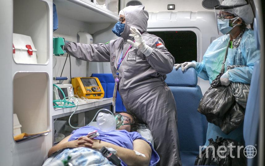 Сейчас страна на 1-ом месте по приросту смертей среди пациентов с COVID-19. Фото Getty