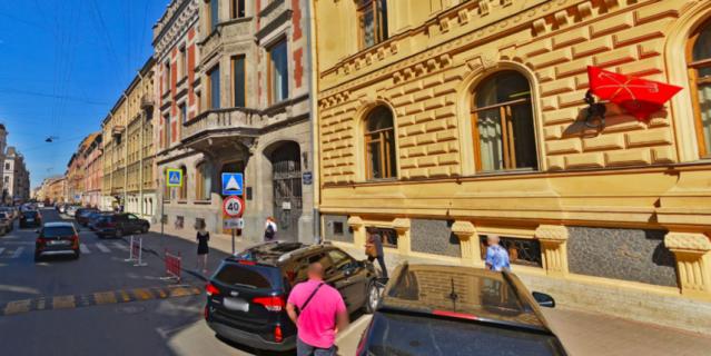 Моховая улица.