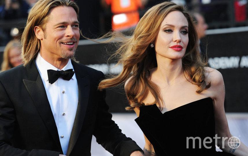 Брэд Питт и Анджелина Джоли. Фото Getty