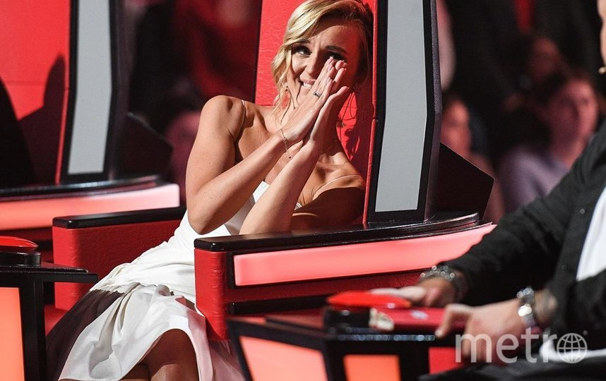 """Полина Гагарина в кресле наставницы шоу """"Голос"""". Фото instagram.com/p/B9rpKTnqir7."""