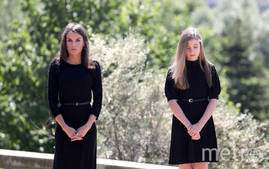 Королева Летисия и София. Фото Getty