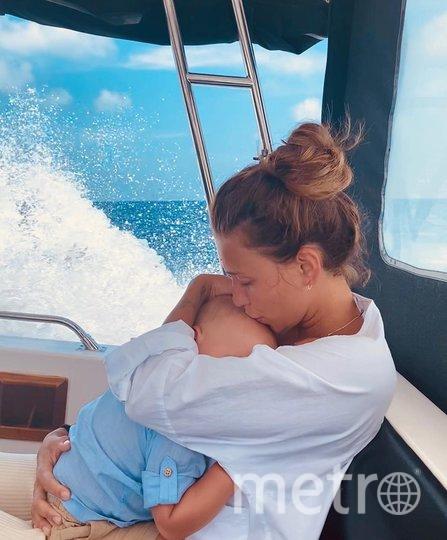 Регина Тодоренко с сыном. Фото instagram.com/reginatodorenko.