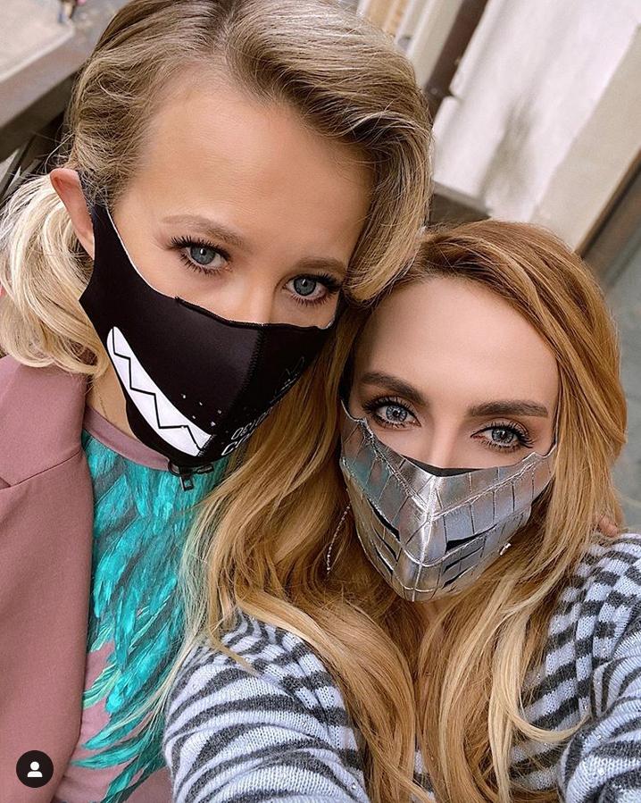 Ксения Собчак и Екатерина Варнава. Фото Instagram @kativarnava