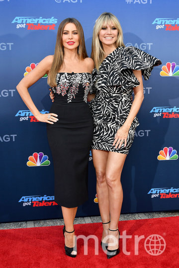 Хайди Клум и София Вергара. Фото Getty