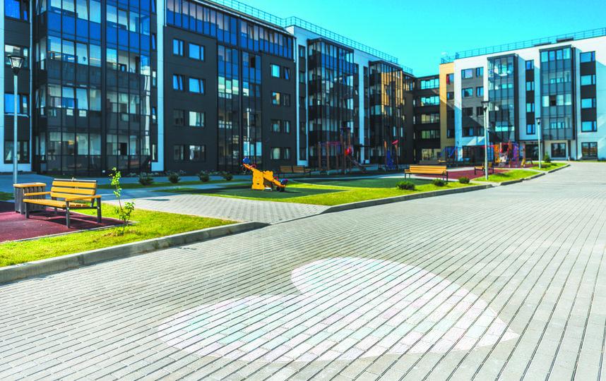 Малоэтажное жильё также пользуется спросом. Фото ГК «Ленстройтрест».
