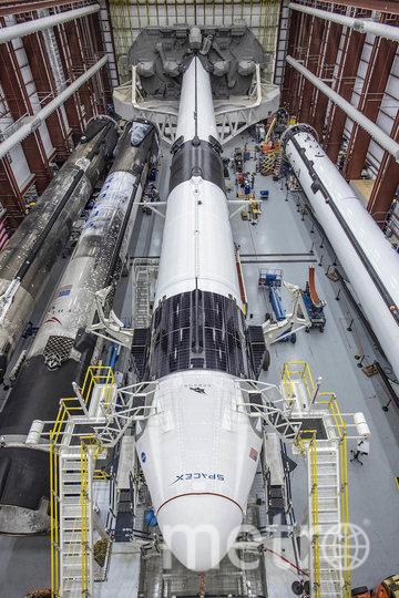 """Запуск """"Драгона"""" – первая за девять американская миссия, которая должна осуществиться на территории США. Фото AFP"""
