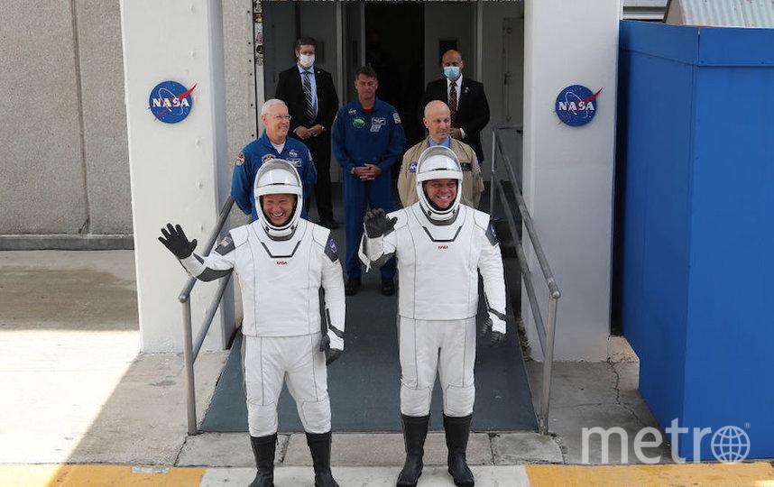 """Запуск """"Драгона"""" – первая за девять американская миссия, которая должна осуществиться на территории США. Фото Getty"""