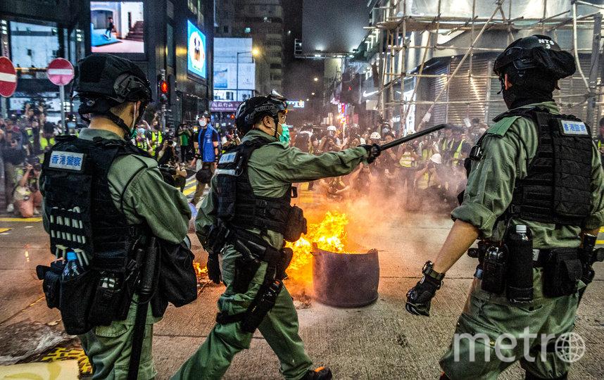 Намерение властей принять закон о нацбезопасности в Гонконге вызвал новую волну протестов в городе. Фото AFP