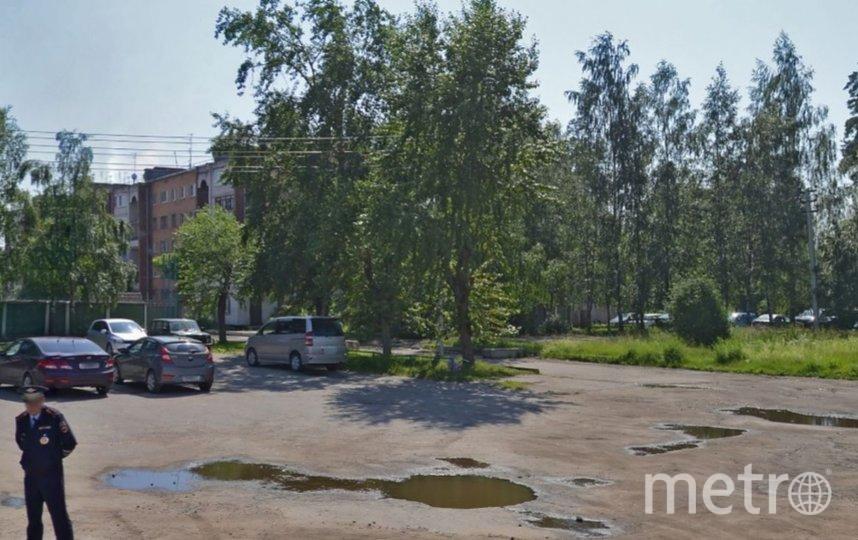Инцидент произошел во дворе дома на Копорском шоссе. Фото Яндекс.Панорамы