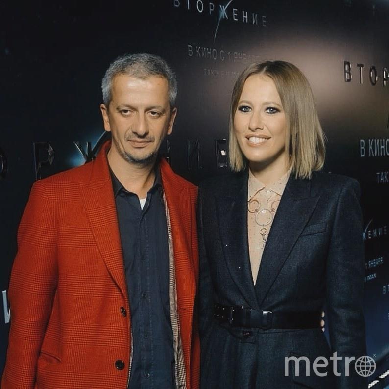 Ксения Собчак и Константин Богомолов. Фото instagram.com/konbog75.