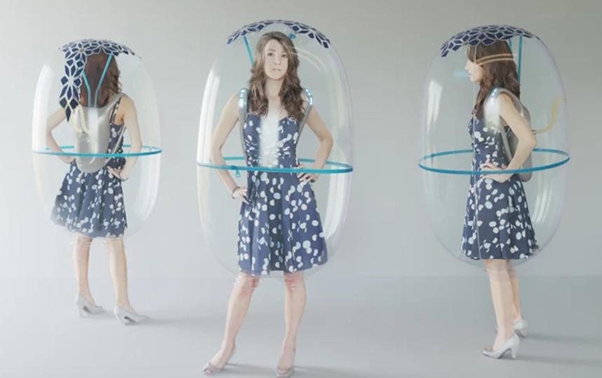 Щит из пузыря. Фото Фото представлены дизайнерами